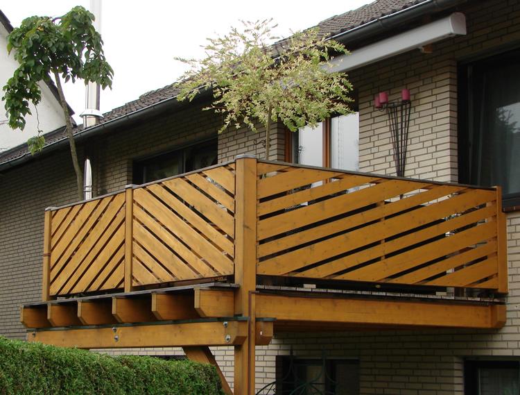 Holz Balkon Awesome Holzbalkon With Holz Balkon Latest Holz